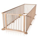 "Playpen - grondbox ""Octagon"" 7,2m naturel inklapbaar_"