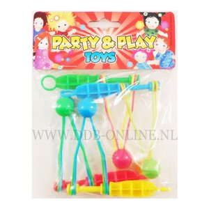 Uitdeelcadeau Party & play ratel