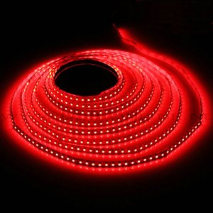 3 meter LED Strip 360 LED rood + controller, voeding en afstandsbediening