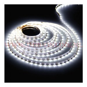 2 meter 5050 LED Strip 60 LED p/m wit + controller, voeding en afstandsbediening