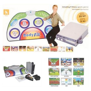 Body fit game set wireless console incl. 9 fitness sport games - draadloos